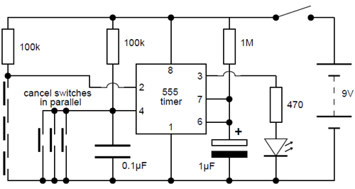 to automatic light switch controller electronic projects circuits