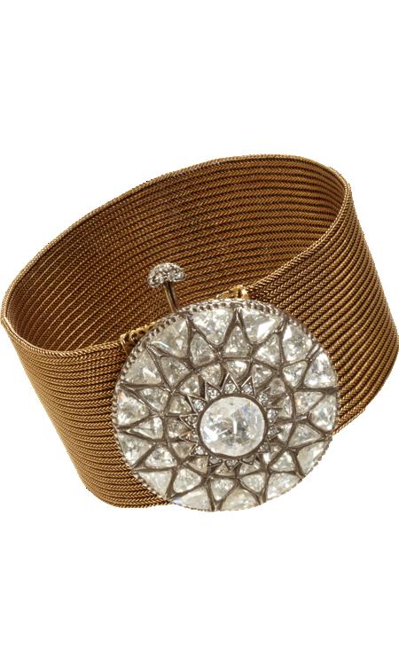Munnu Diamond Buckle Bracelet