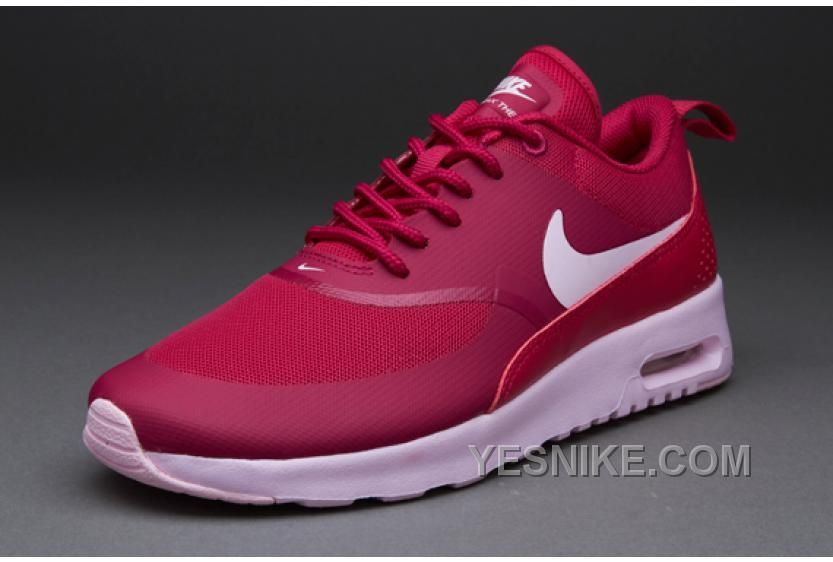Big Discount  66 OFF Nike Air Max Thea Womens Red Black Friday Deals 2016XMS2152