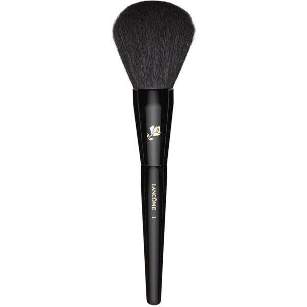 Lancôme Powder Brush #1 ($48) ❤ liked on Polyvore