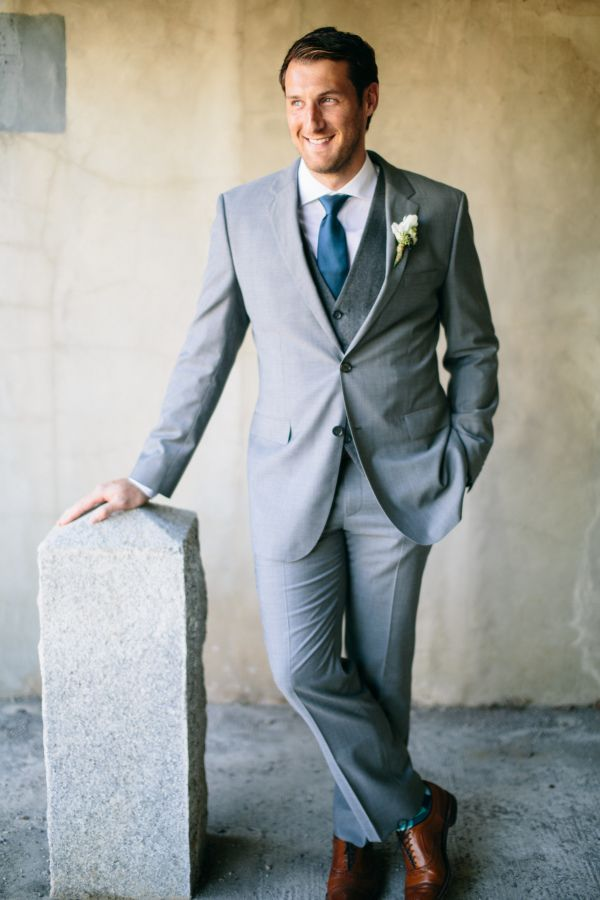 Gray Groom Suit | Wedding grey and Wedding