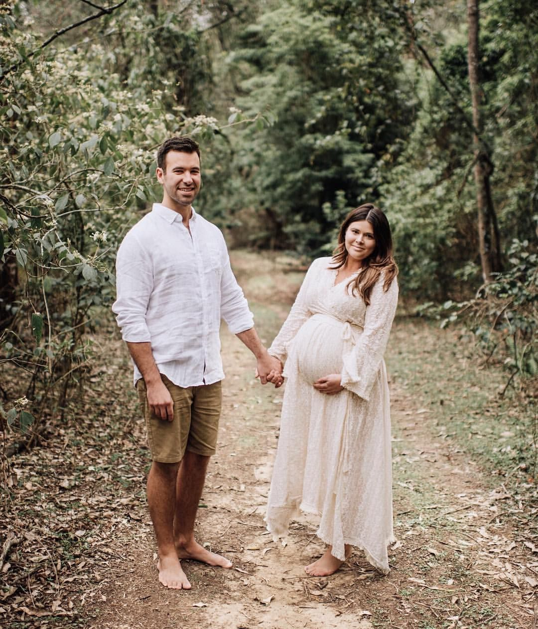 63603e3d2fbfc @sarah__basham in our Pirate Queen Maxi ~ 📷 @sarahkennedy_photographer Baby  shower outfit dress boho bohemian pregnant pregnancy maternity photoshoot