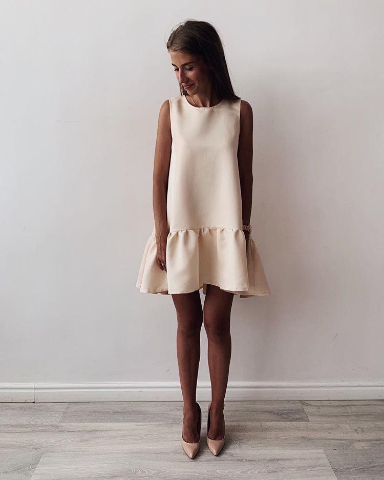 Платье колокольчиком картинки