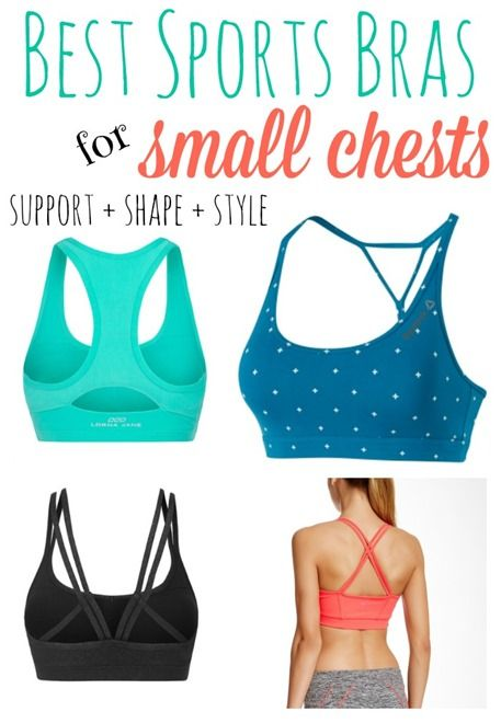 The Best Sports Bras For Small Chests | Athletic wear, Yoga ...