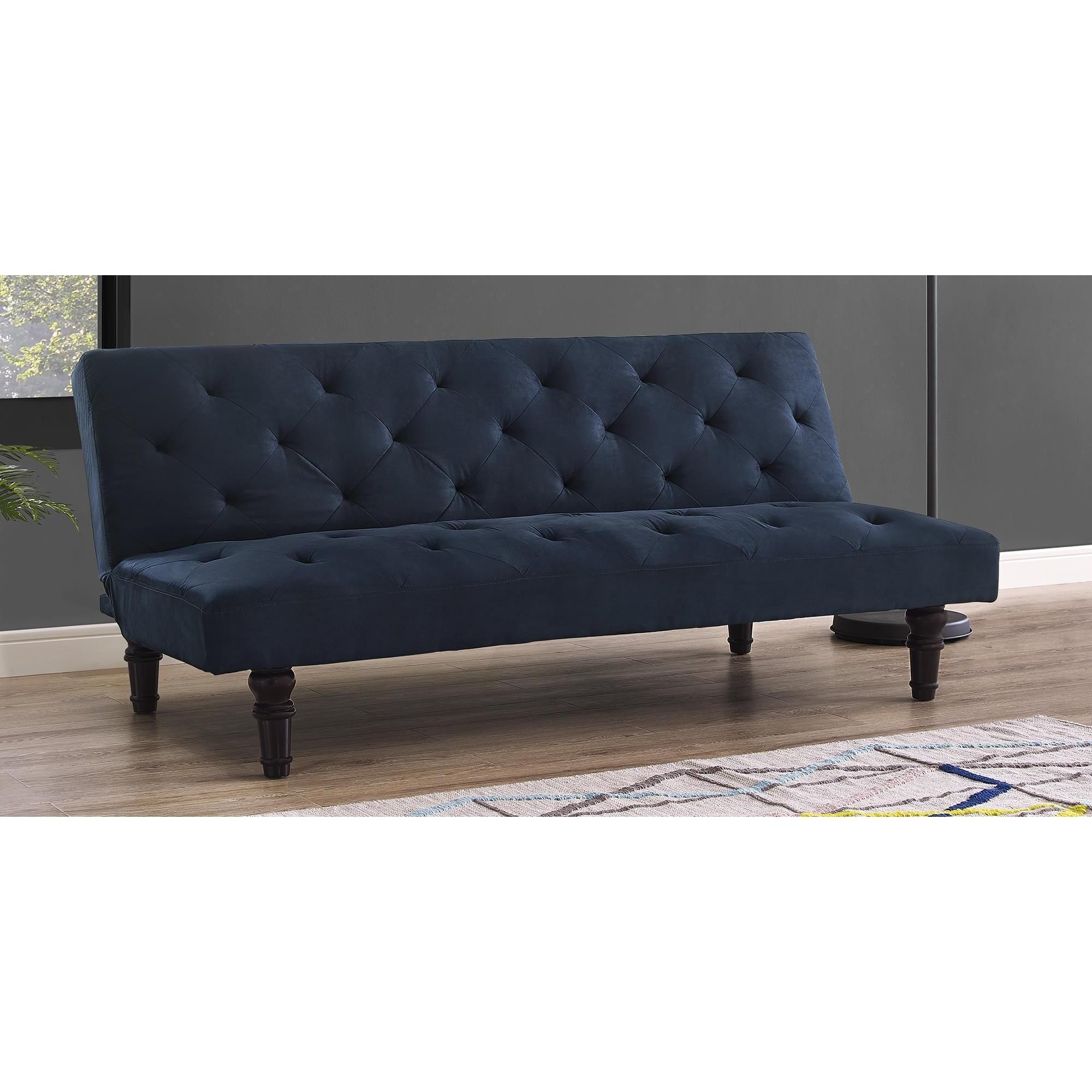 The Dhp Orfino Futon Will Instantly Add A Touch Of Cl In