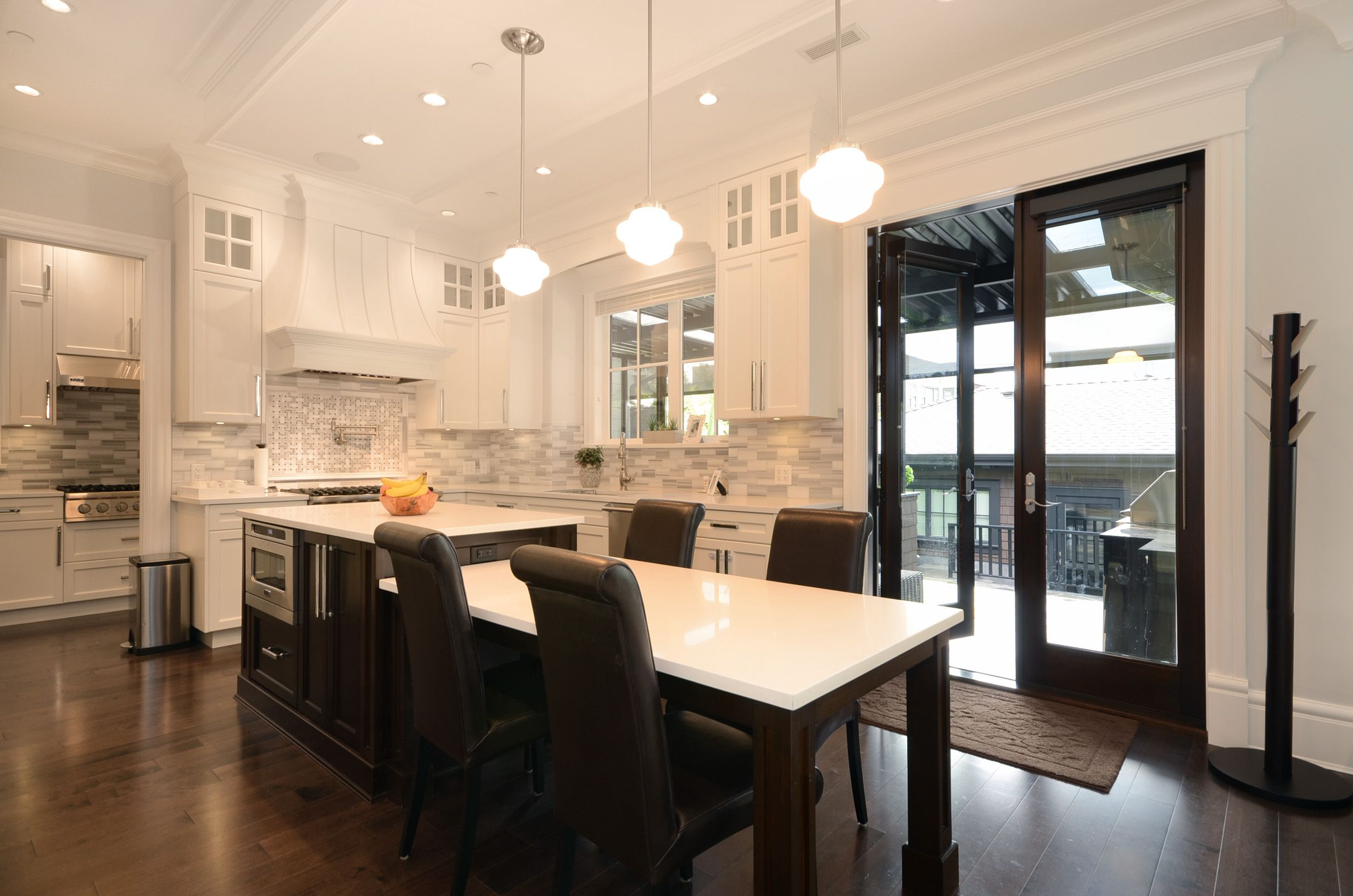 Kitchen design, island table, craftsman style, transitional, Vancouver, B.C. West 3rd | Arden Interiors