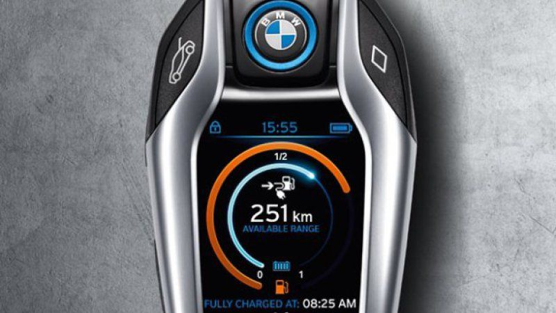 BMW I8 Key Fob Holds A Surprise In Your Hand