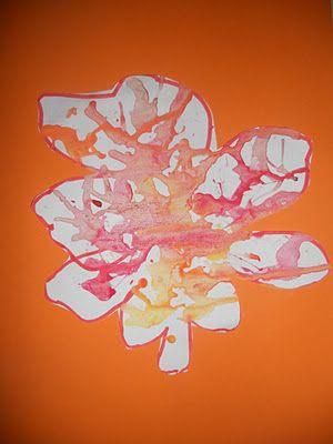 Herfstblad maken