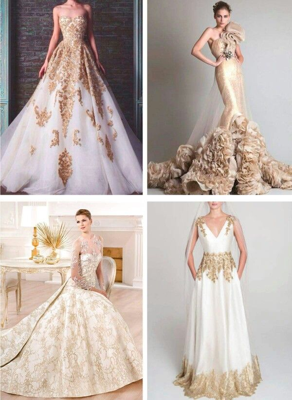 Touch Of Gold Wedding Dresses Dresses Gold Wedding Dress