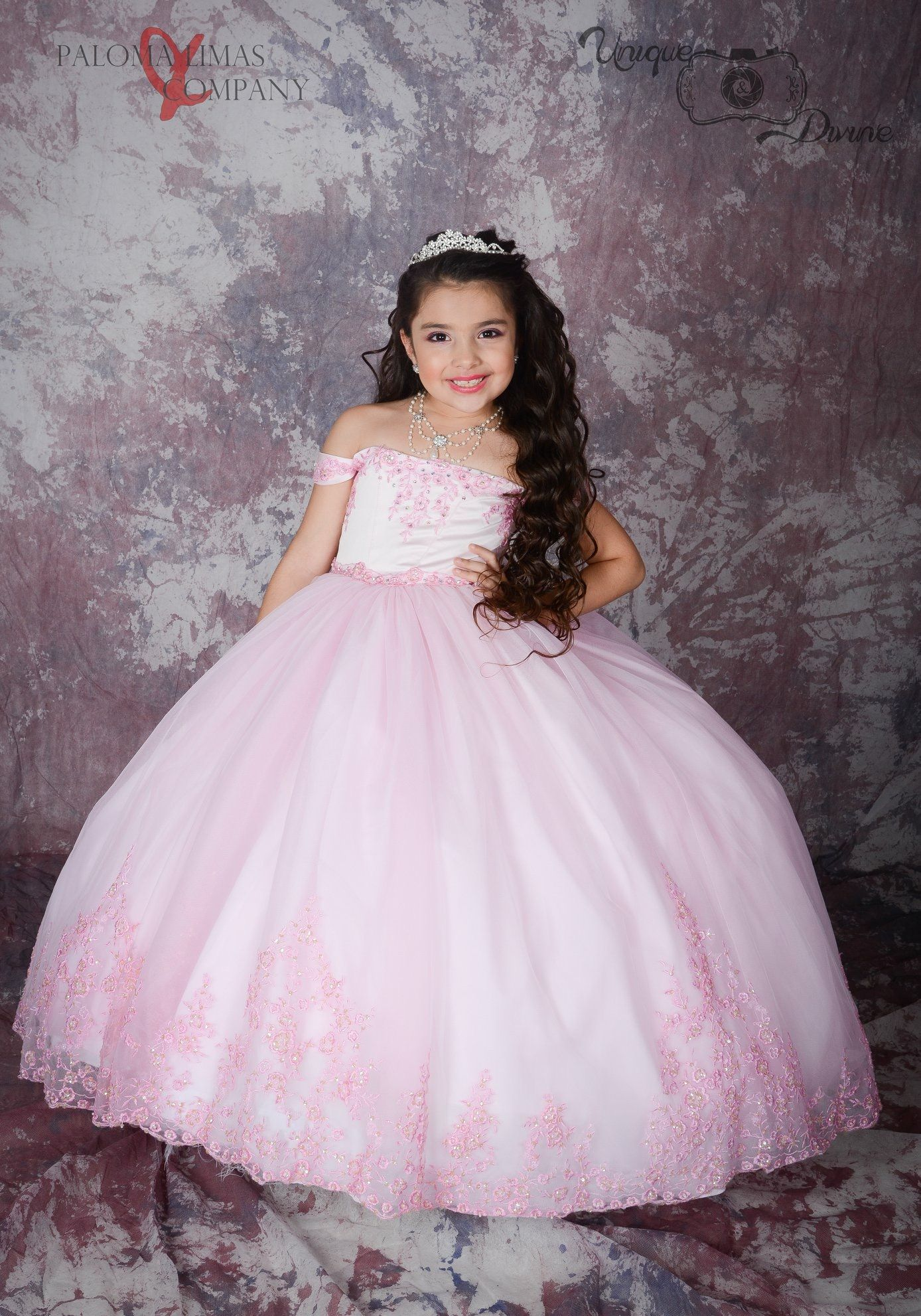 86da81d5f788 Pink Cincoañera Dress