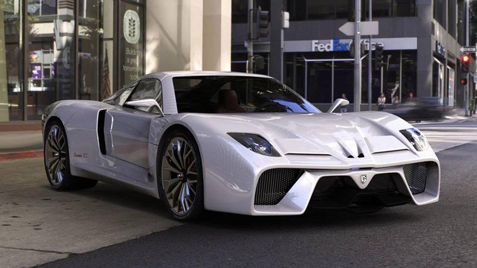 Italian Firm Plans Electric Supercar Super Cars Electric Cars Car