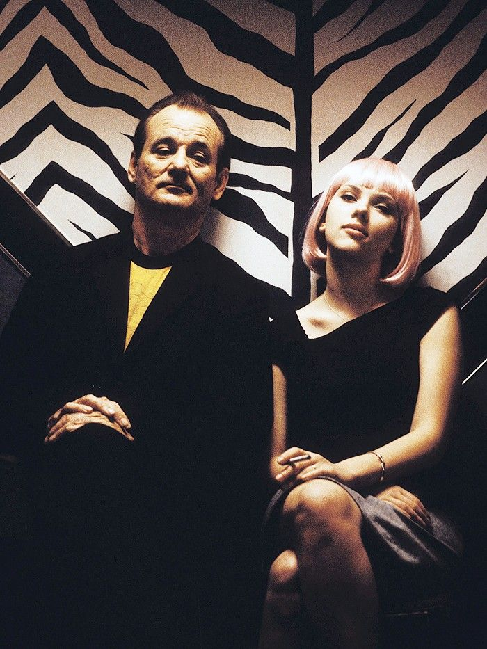 Bob and Charlotte in Lost In Translation via @WhoWhatWear