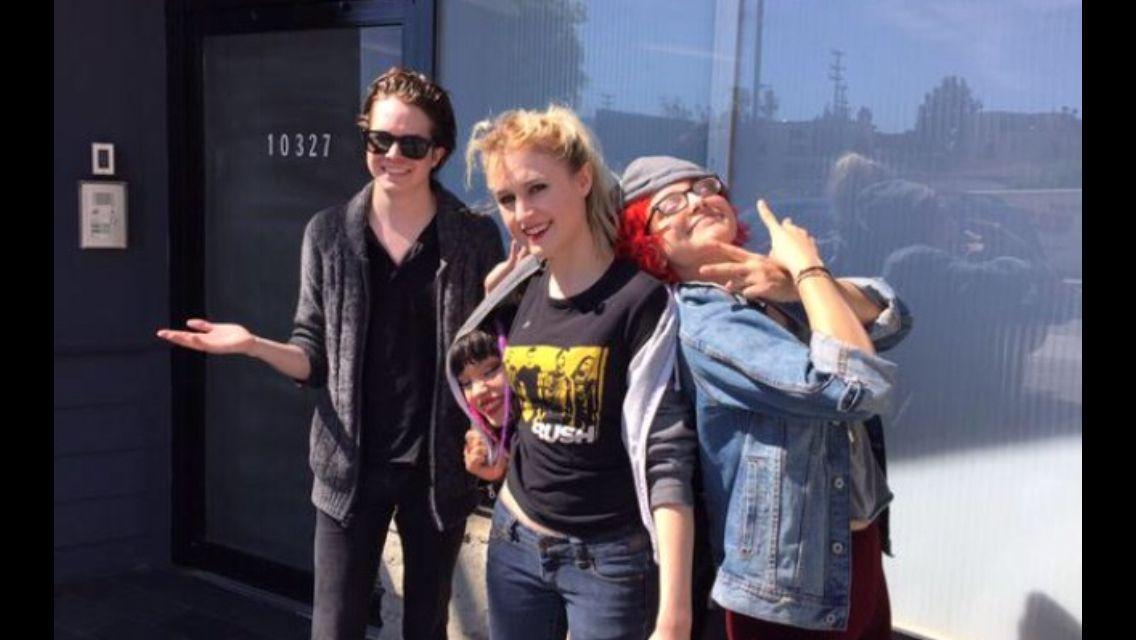 Casey, Rena, Miranda, and Nia.