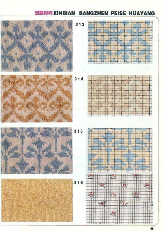 Kitai Jakkard p55 More | knitting: fair isle / 3 | Pinterest ...