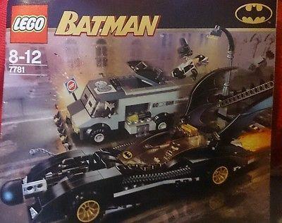 Lego Batman The Batmobile Two Faces Escape 7781 Instruction Book