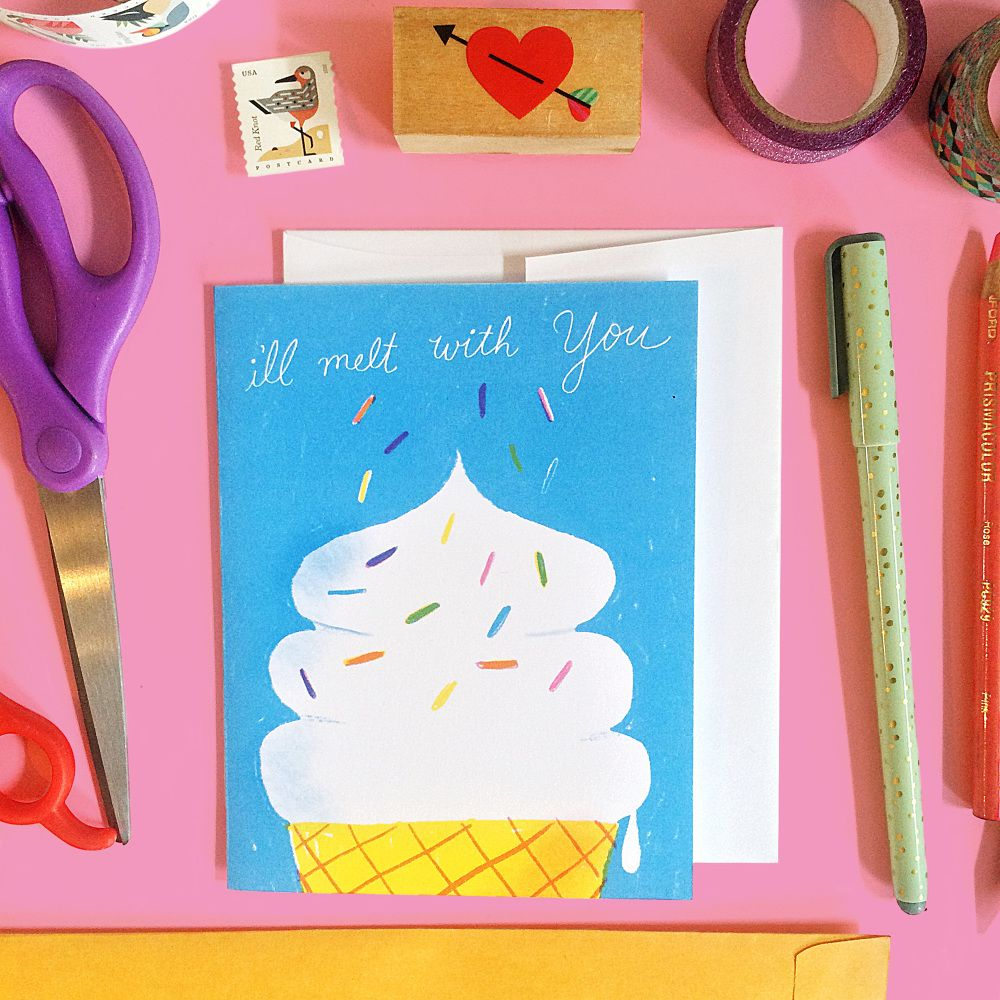 Love and Friendship Greeting Cards - Katie Turner Illustration