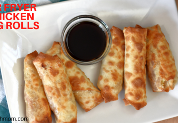 Air fryer chicken egg rolls Recipe Chicken egg rolls