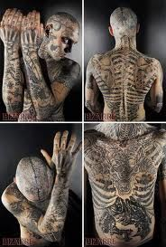The Zombie Man Rick Genest Beautiful Creature Zombie Lover
