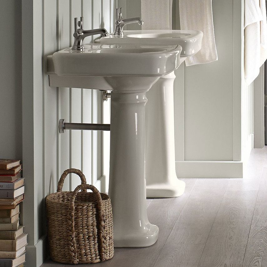 Kohler Bancroft Pedestal Sink Google Search Rectangular Sink Bathroom Bathroom Sink Pedestal Sink