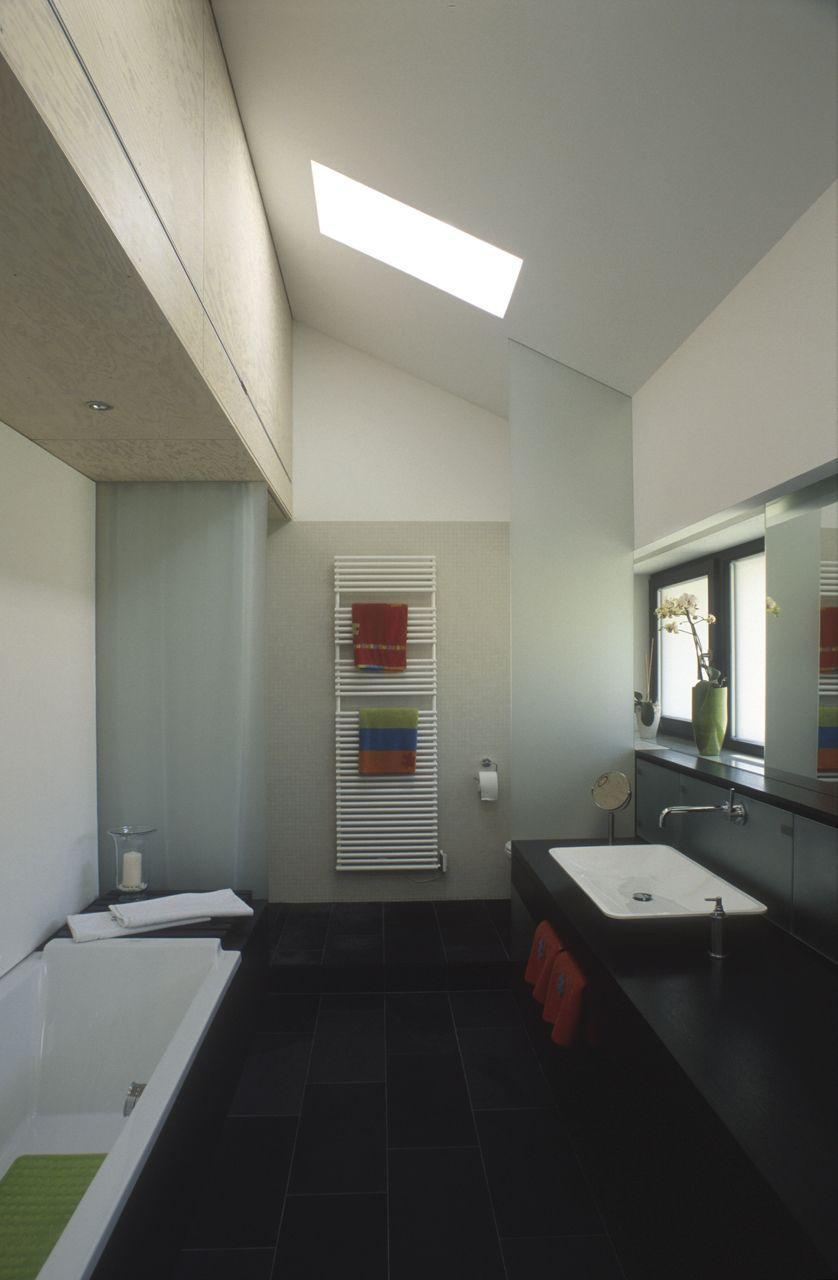 La salle de bains | Bien amenager une salle de bain sous les combles