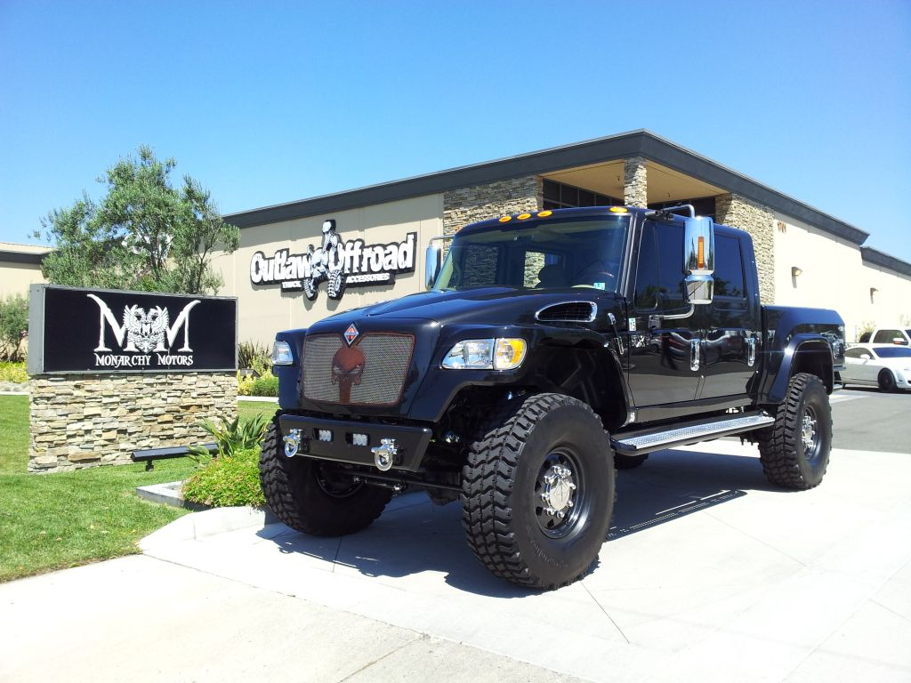 International mxt the baddest trucks ever made and i will own one