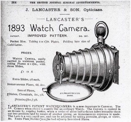 Lancaster's Watch Camera