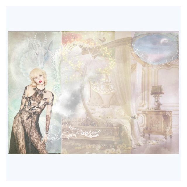 """Mythical Diva"" by bklou ❤ liked on Polyvore featuring art"