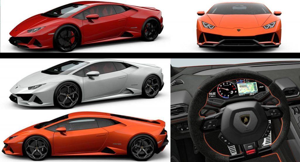 Build Your Ideal Lamborghini Huracan Evo With Official Configurator Lamborghini Huracan Lamborghini Evo