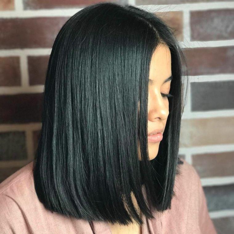 1001 + Idee per Tagli capelli 2019 medi in base alla forma ...