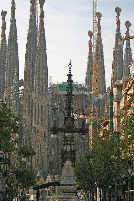 La Sagrada Família, Barcelona,