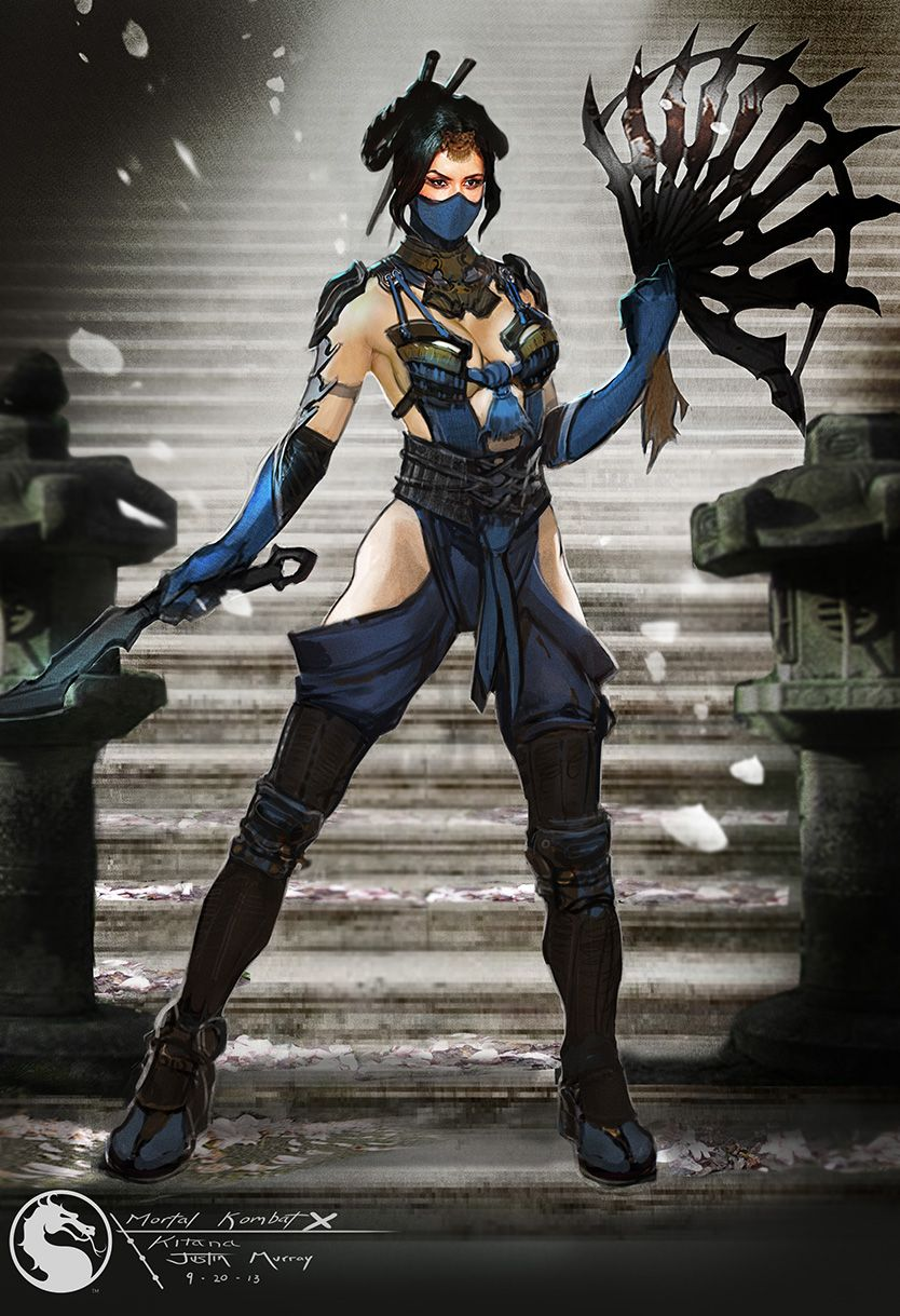 Mkx Kitana By Raggedy Annedroid On Deviantart Mortal Kombat X