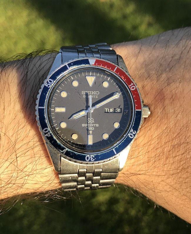 dca1392f520 Seiko 5Y23-6069 Sports 150 Diver Watch