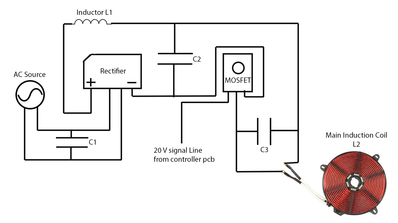 Induction Cooker Circuit Diagram Google Search In 2020 Circuit Diagram Diagram Induction
