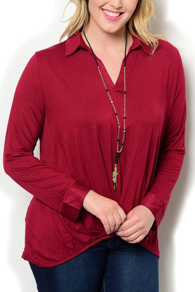 http://www.dhstyles.com/Burgundy-Plus-Size-Dressy-Trendy-High-Low-V-Neck-L-p/wapi-3439x-burgundy.htm