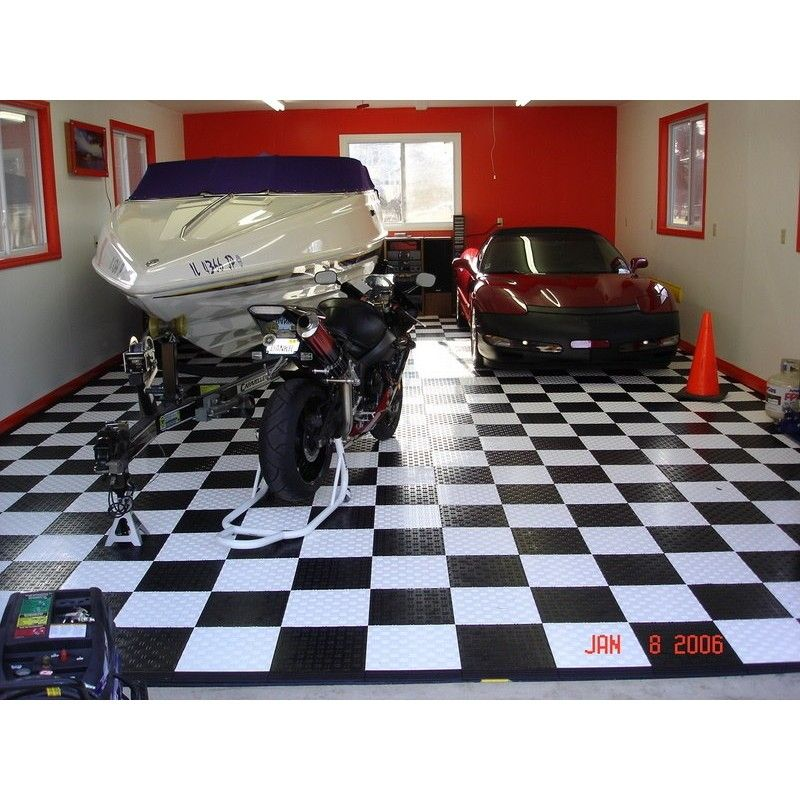 Pin by julien on garage id e pinterest - Dalles plastique pour garage ...