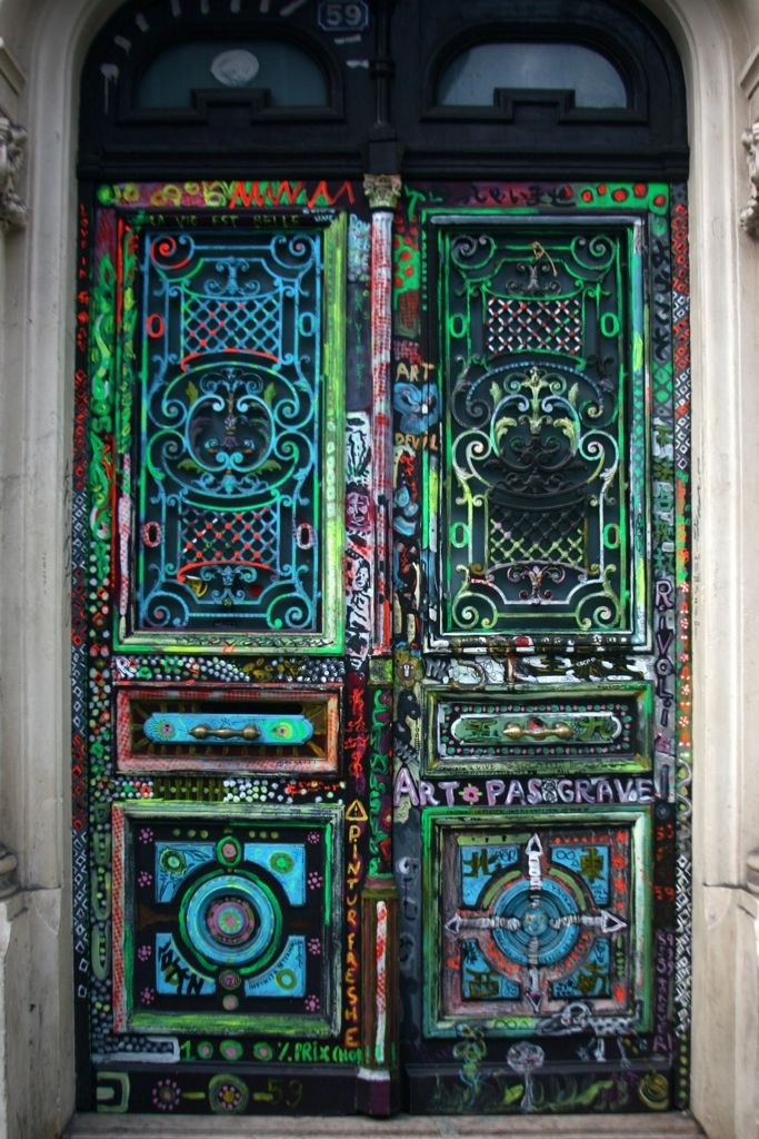 Through Faulty Eyes  Art Door Paris & Pin by Olin on doors u0026 windows | Pinterest | Doors Amazing ... pezcame.com
