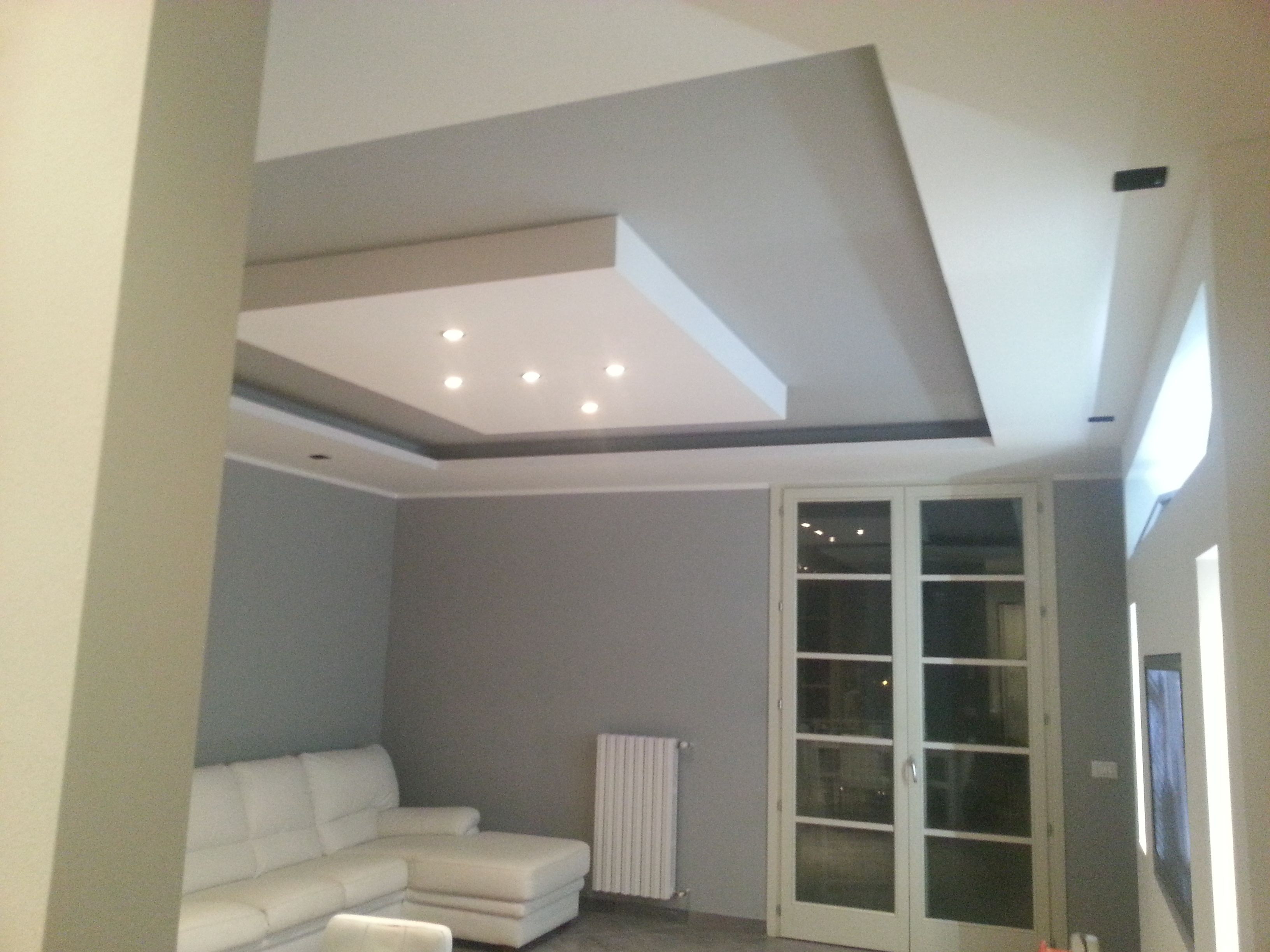 Velette in cartongesso controsoffitti ceiling for Arredamento in cartongesso
