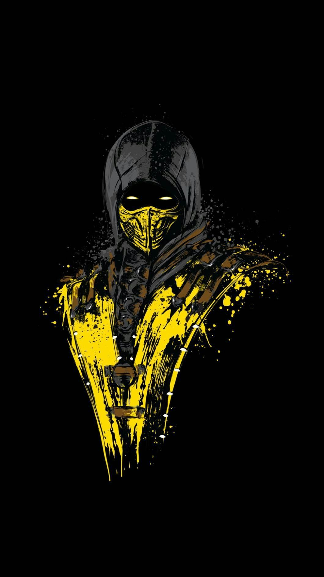 mortal kombat scorpion wallpaper | wallpapers | pinterest | mortal