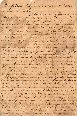 sullivan ballou wrote this letter to his wife sarah in 1861 before he died on the battlefield