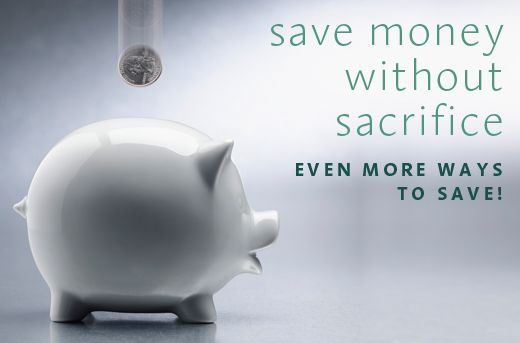 Saving without Sacrifice!
