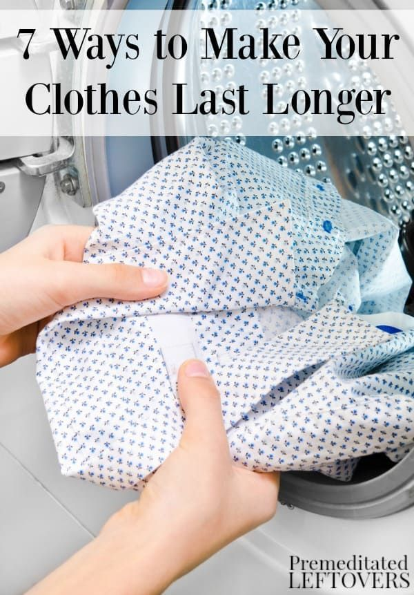 You can get more mileage out of your favorite clothes (and your ...