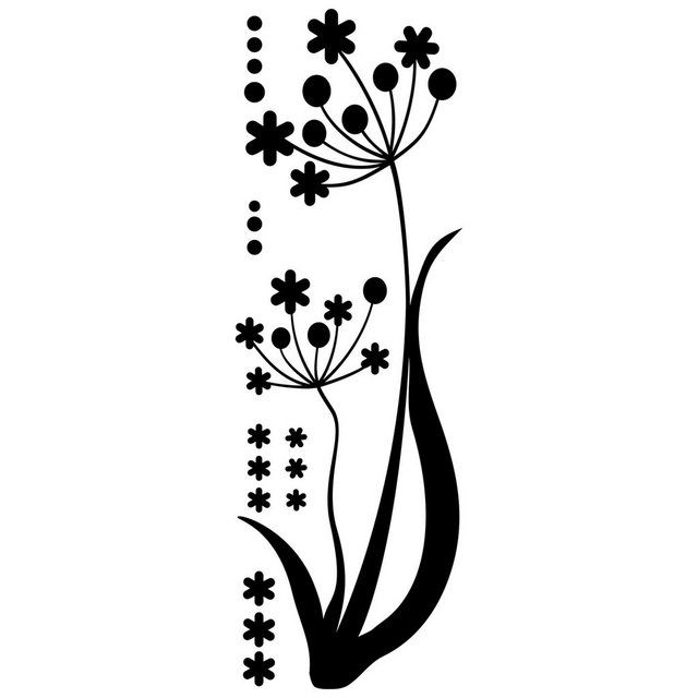 "Photo of ""Flower in the Wind"" Wall Decal"