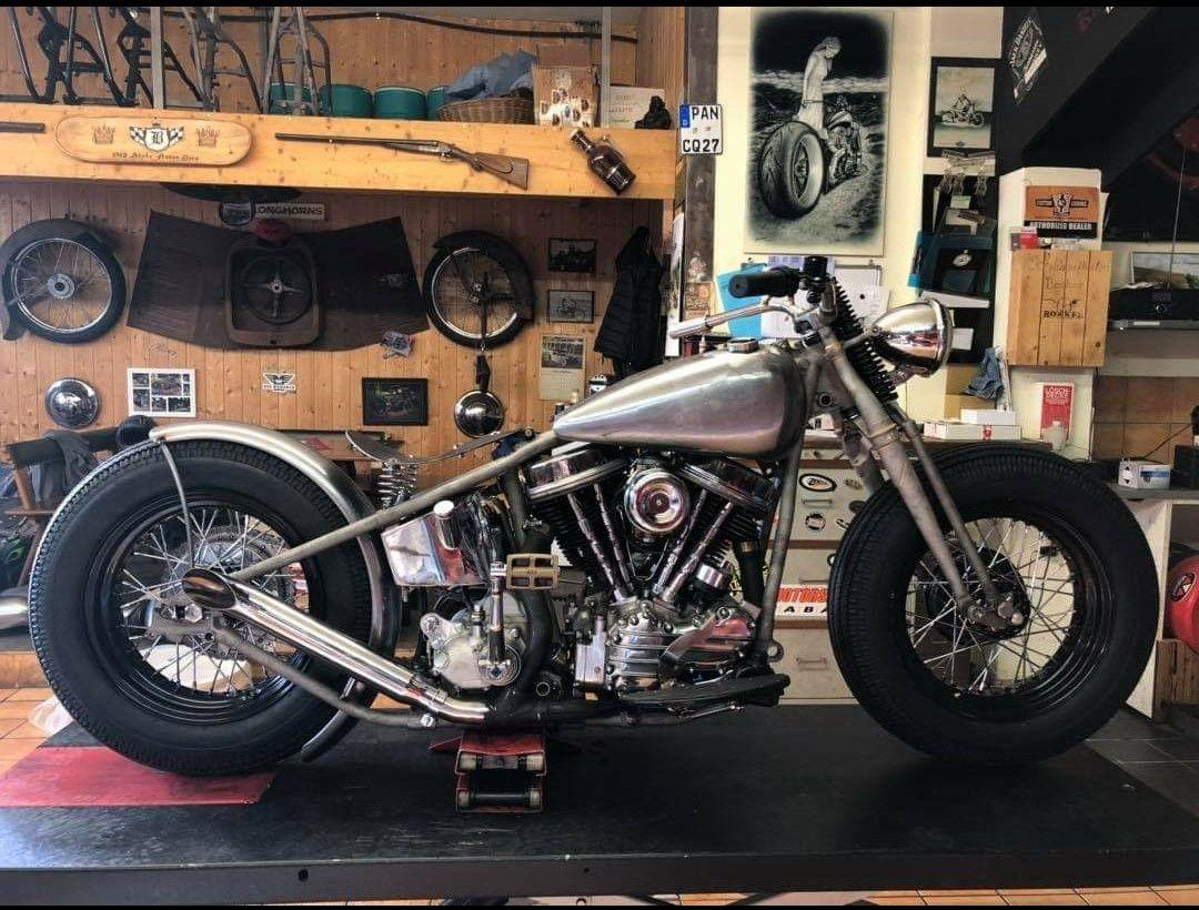 Pin By Marijn Visscher On Sr Harley Panhead Cool Bikes Harley Davidson