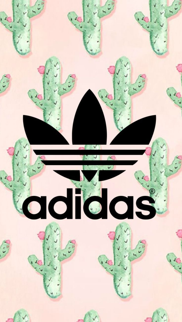 Adidas cactus wallpaper – designed by me