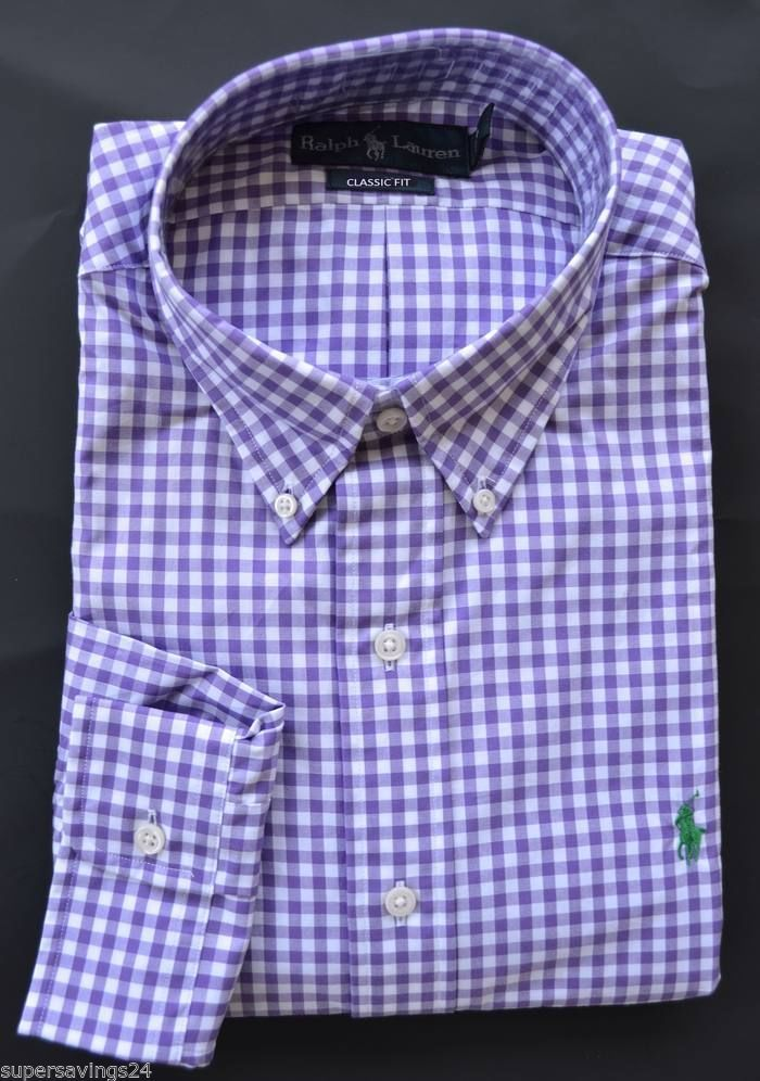 Button Shirt Ralph Dress Mens Polo Details Xl Lauren Down New About hdCxrtsQ