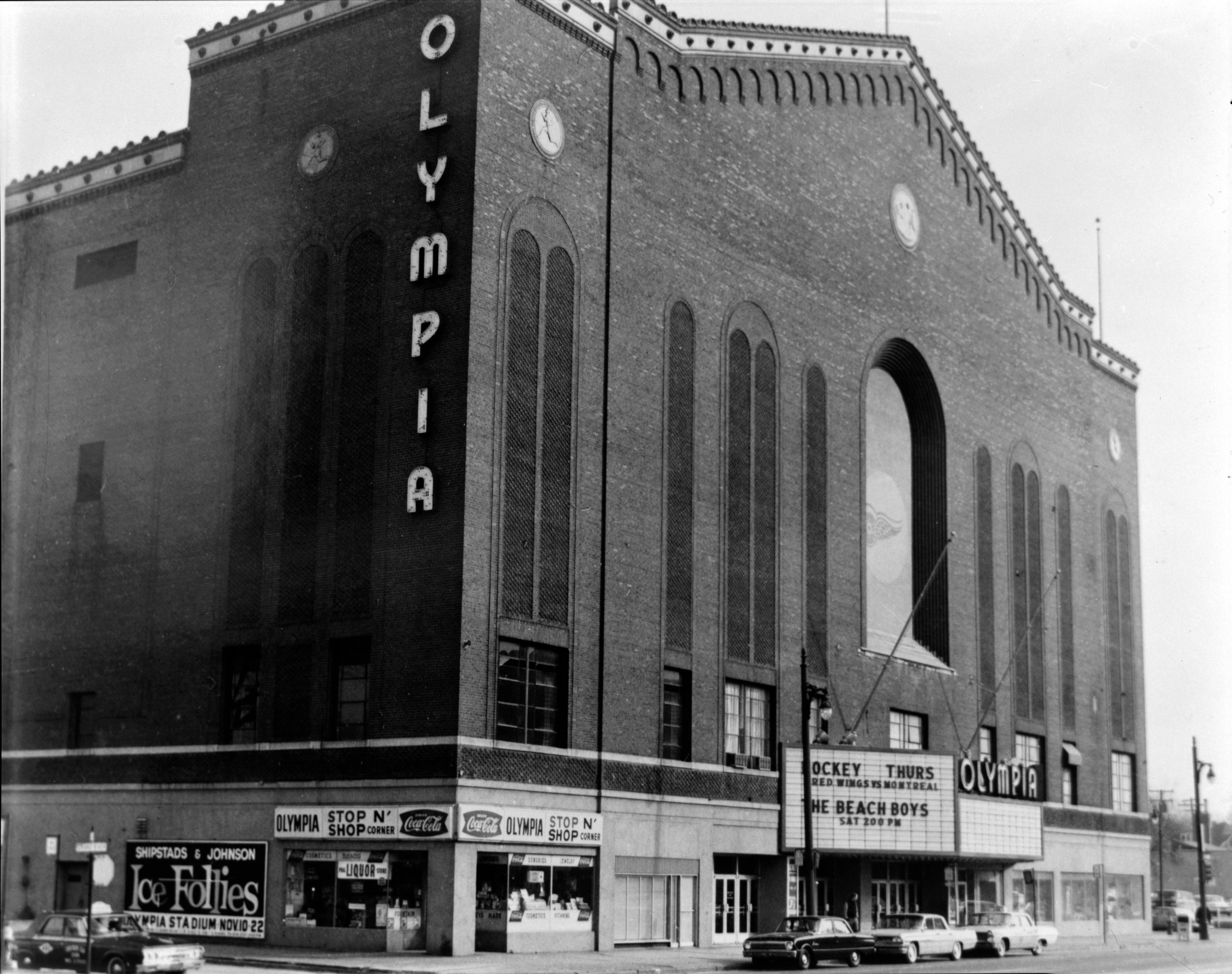 Outside the old olympia arena in detroit stadiums and arenas outside the old olympia arena in detroit aiddatafo Image collections