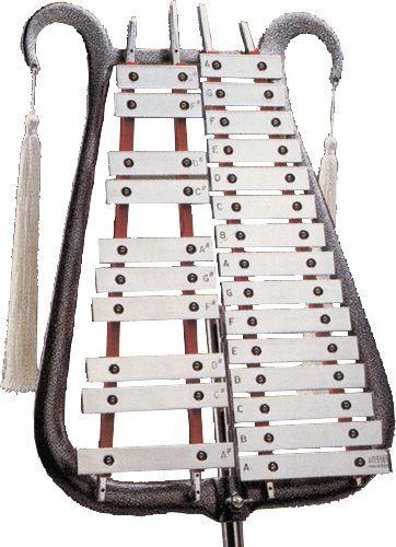 My favorite musical instrument... the Glockenspiel