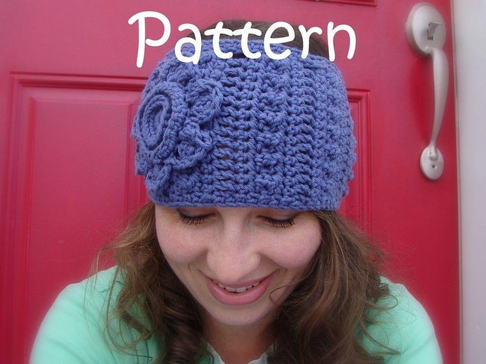 Crochet Headwarmer Pattern. $5.00, via Etsy. @Candace Pichonsky for IMJ