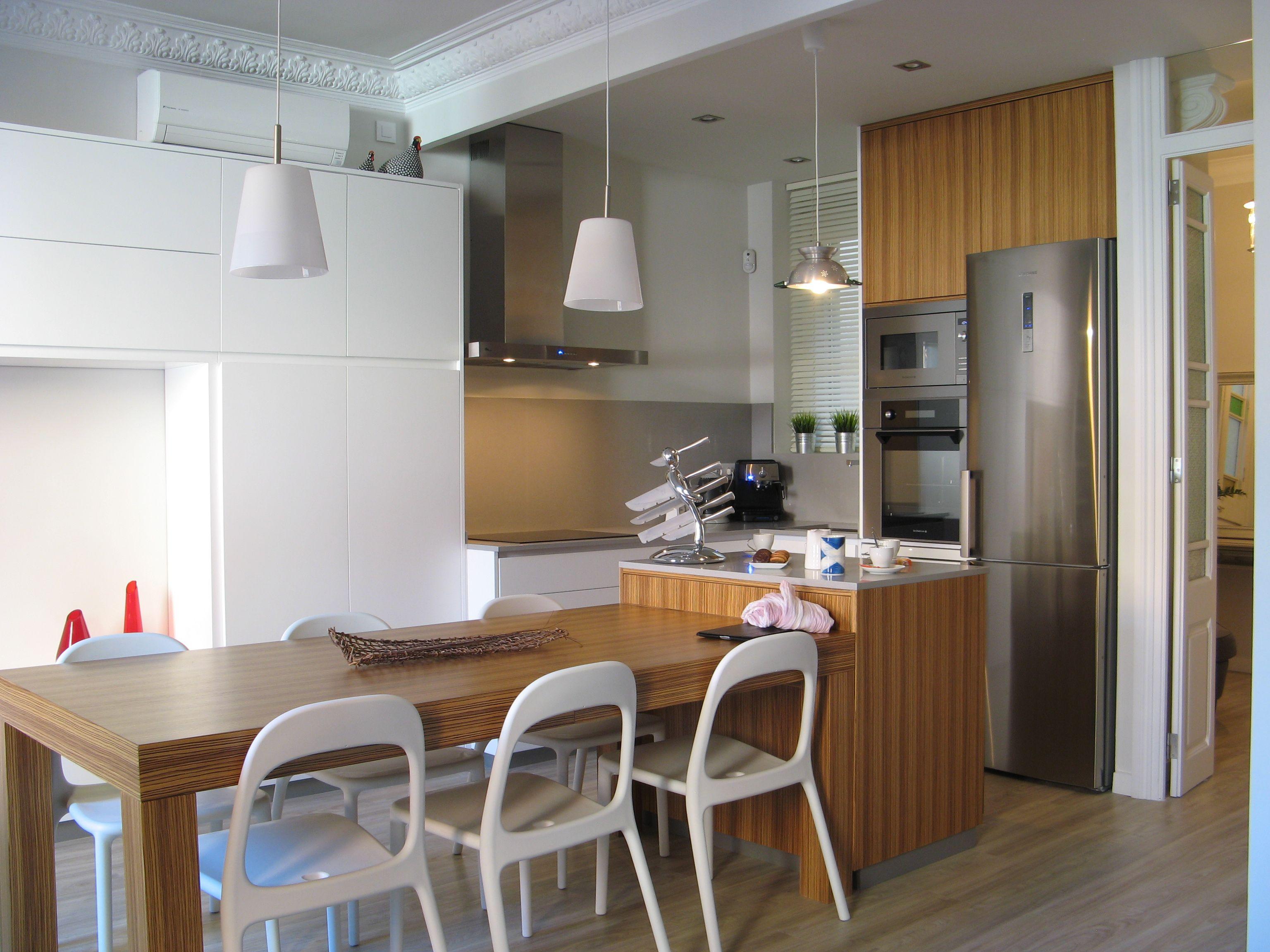 Ideas de #Casas de #Comedor, #Cocina, estilo #Mediterraneo diseñado ...