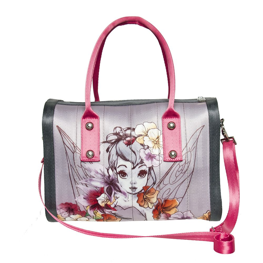 Disney Couture Marilyn Satchel Tinkerbell Tink Harvey Seatbelt Bags I Love This Bag So Much